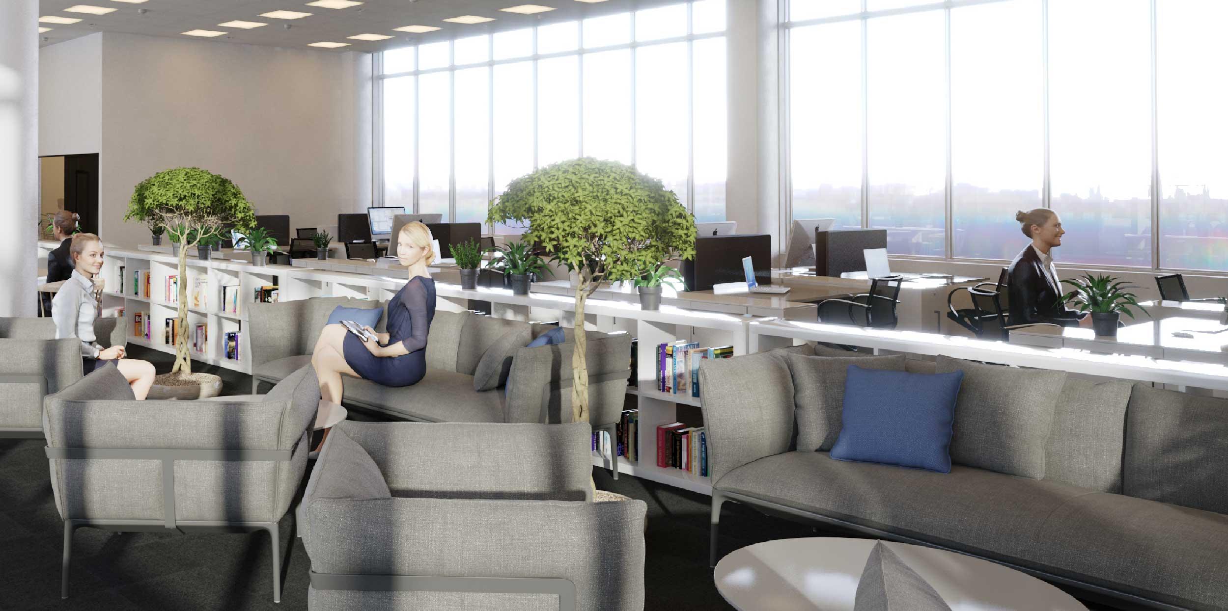 Piispanportti 10 tarjoaa tyylikästä toimistotilaa unelmapaikalla Länsiväylän varrella