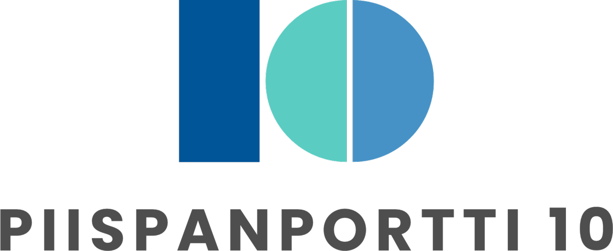 Piispanportti 10 logo